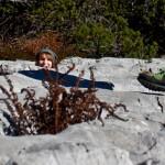 Verstecken in den Felsen auf dem Weg von der Ybbstalerhütte zum Dürrenstein