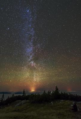 Sternenhimmel über der Ybbstalerhütte