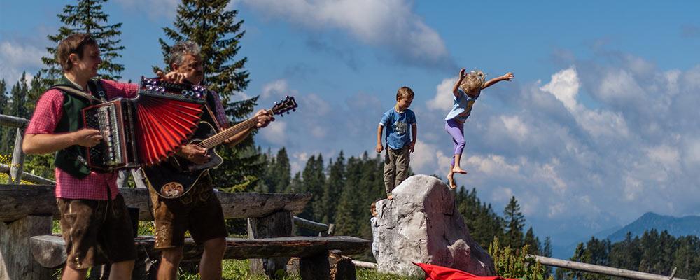 Ybbstalerhütte - Kinderfreundlich und musikalisch