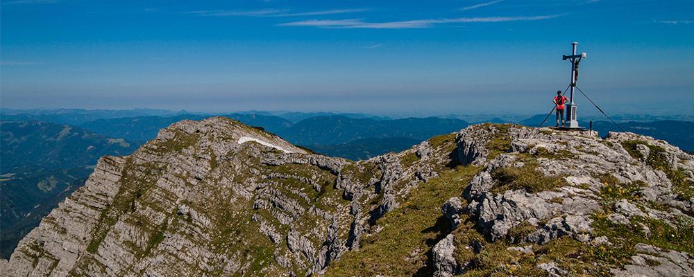 Ybbstalerhütte - Am Dürrenstein Gipfel