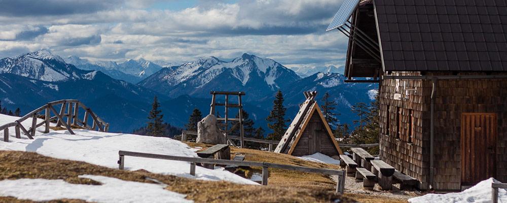 Ybbstalerhütte - im Frühling
