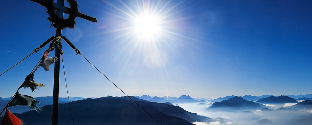 Ybbstalerhütte - Am Notengipfel, Blick ins Gesäuse