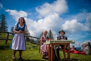 Ybbstalerhütte - Inge Wurzer, Dr. Berthold Panzenböck, Marianne Schragl