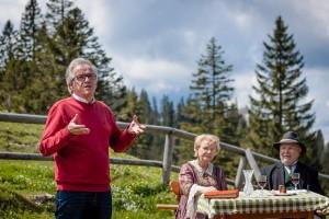 Ybbstalerhütte - Fördervereinsobmann Johann Schragl - Sanierung der Töpperkapelle in Neubruck