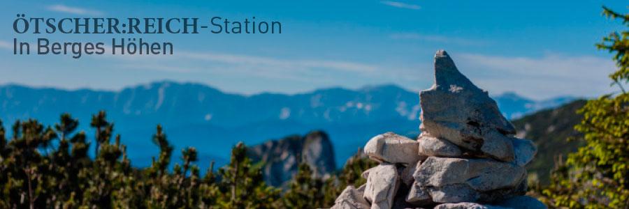 ÖTSCHER:REICH-Station In Berges Höhen - Ybbstalerhütte