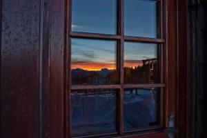 Ybbstalerhütte im Winter