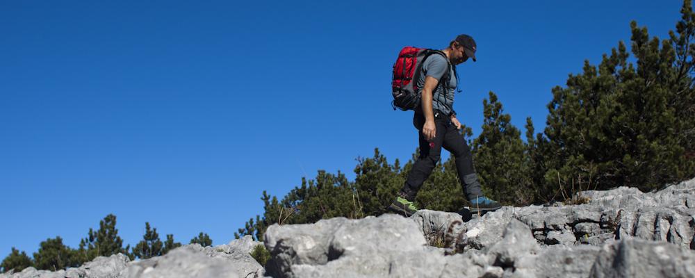 Ybbstalerhütte - Wandern über das Karrenfeld