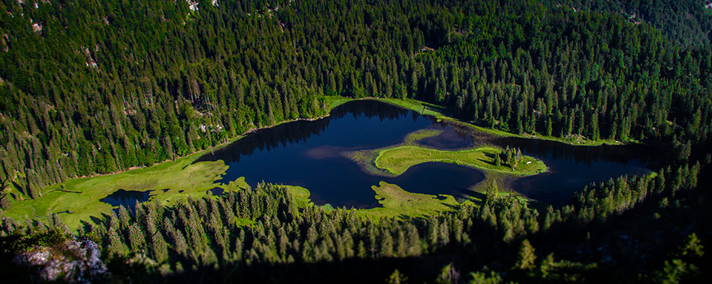 Ybbstalerhütte - Blick auf den Obersee