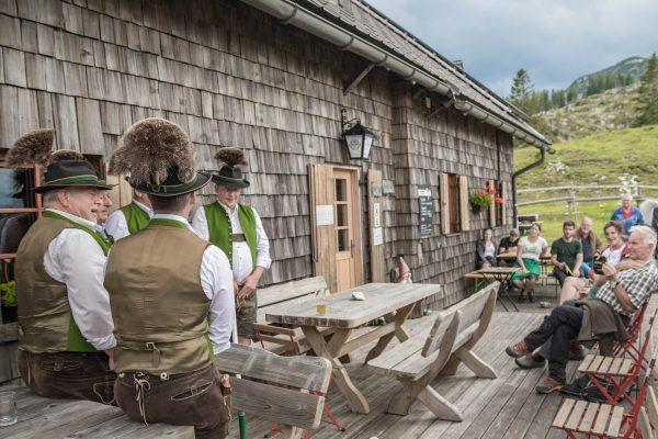 Herzerl Fest auf der Ybbstalerhütte